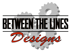 between the lines designs